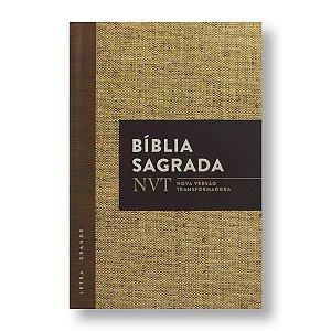 BÍBLIA NVT LETRA GRANDE CAPA DURA - JUTA