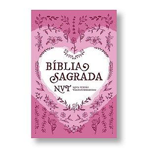 BÍBLIA NVT LG LETRA NORMAL CAPA DURA - CORAÇÃO