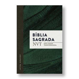 BÍBLIA NVT LETRA NORMAL CAPA BROCHURA - VERDE