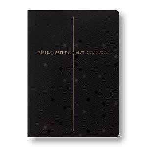 BÍBLIA DE ESTUDO NVT - PRETA