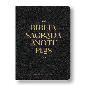 BÍBLIA RC ANOTE PLUS SEMI LUXO PRETA