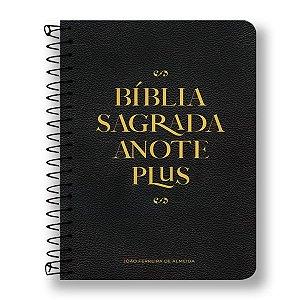 BÍBLIA RC ANOTE PLUS ESPIRAL PRETA