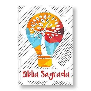 BÍBLIA NVI GRANDE CAPA ESPECIAL LUZ DO MUNDO