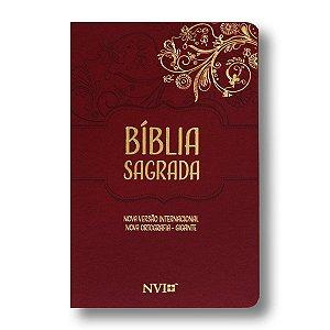 BÍBLIA NVI LETRA GIGANTE VERMELHA