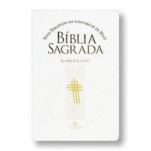 BÍBLIA NTLH067LGIW:BR LETRA GIGANTE BRANCA