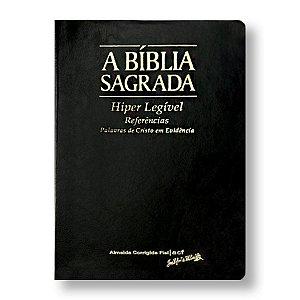 BÍBLIA ACF FIEL GIGANTE HIPERLEGÍVEL PRETA