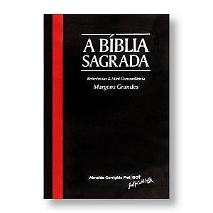 BÍBLIA ACF MARGENS GRANDES CAPA DURA PRETA