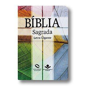 BÍBLIA NA065TILGI CRUZ LETRA GIGANTE SEMI FLEXÍVEL ÍNDICE