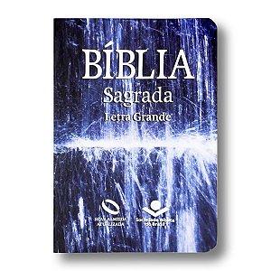 BÍBLIA NA041LG LETRA GRANDE CAPA SEMIFLEXÍVEL ÁGUA