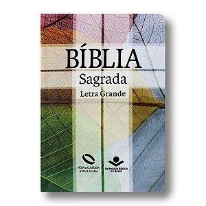 BÍBLIA NA041TILG CRUZ LETRA GRANDE SEMI FLEXÍVEL