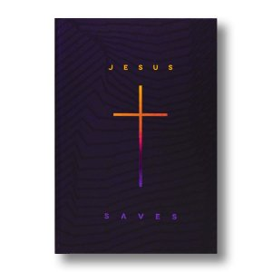 BÍBLIA NA063LG LETRA GRANDE CAPA DURA JESUS SAVES