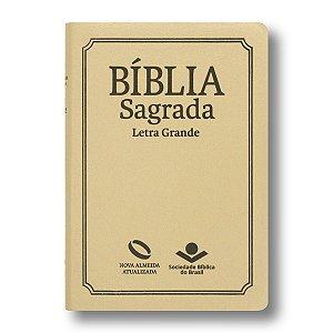 BÍBLIA NA067TILG SEMILUXO LETRA GRANDE ÍNDICE MARFIM