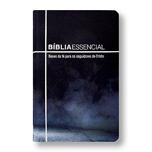 BÍBLIA NA063BESS ESSENCIAL CAPA DURA ILUSTRADA AZUL