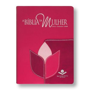 BÍBLIA DA MULHER ARC085BM FLOR