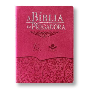 BÍBLIA DA PREGADORA RA085BPRA CAPA GOIABA