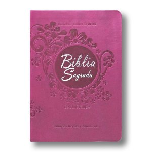 BÍBLIA RA045LGTI LETRA GRANDE VINHO COM ÍNDICE