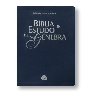 BÍBLIA DE ESTUDO DE GENEBRA RA085 - AZUL NOBRE - EDIÇÃO REVISTA E AMPLIADA