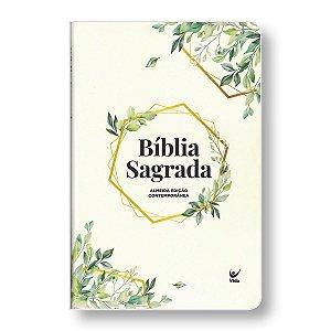BÍBLIA AEC SEMI-LUXO FOLHAGEM