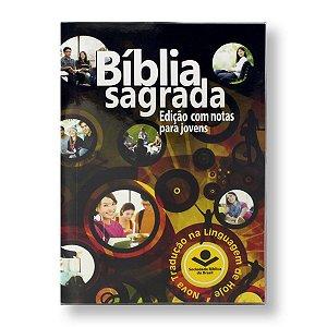 BÍBLIA NTLH040BJ COM NOTAS PARA JOVENS BROCHURA EDUCAÇÃO