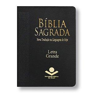 BÍBLIA NTLH045LG LETRA GRANDE PRETA