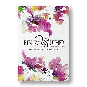 BÍBLIA DA MULHER NTLH067TIBM - AQUARELA