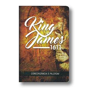 BÍBLIA KING JAMES COM CONCORDÂNCIA - CAPA LEÃO