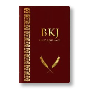 BÍBLIA KING JAMES FIEL 1611 CAPA VINHO