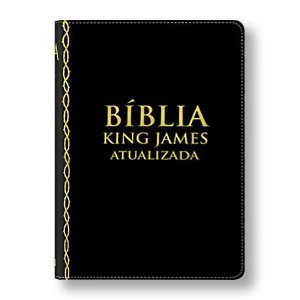BÍBLIA KING JAMES ATUALIZADA - CAPA PRETA