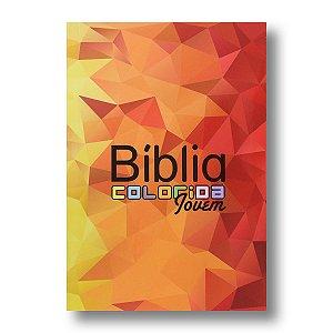 BÍBLIA COLORIDA JOVEM CAPA BROCHURA MOSAICO