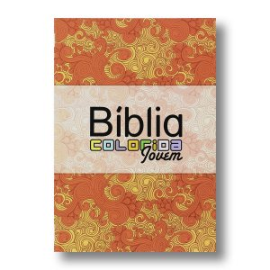 BÍBLIA COLORIDA JOVEM CAPA BROCHURA PRIMAVERA