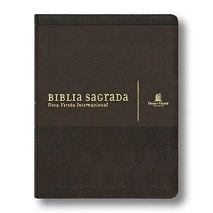 SUA BÍBLIA CAPA MARROM CAFÉ - COM ESPAÇO PARA ANOTAÇÕES