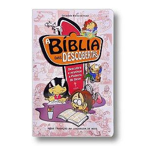 A BÍBLIA DAS DESCOBERTAS ROSA CAPA DURA PLASTICO