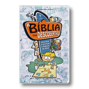 A BÍBLIA DAS DESCOBERTAS AZUL CAPA DURA PLASTICO