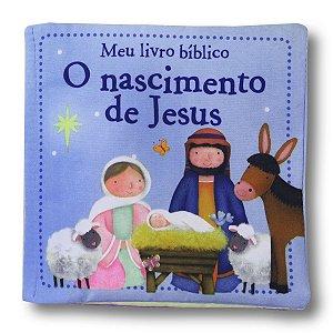MEU LIVRO BÍBLICO O NASCIMENTO DE JESUS - LIVRO DE PANO