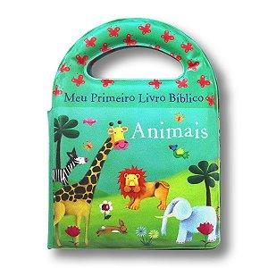 LIVRO DE BANHO - MEU PRIMEIRO LIVRO BÍBLICO ANIMAIS