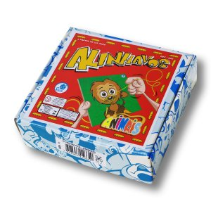 ALINHAVOS ANIMAIS COM CAIXA CARTONADA