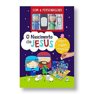 O NASCIMENTO DE JESUS - CENÁRIO ANIMADO