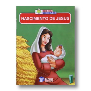 MINI BIBLIOTECA BÍBLICA - NASCIMENTO DE JESUS