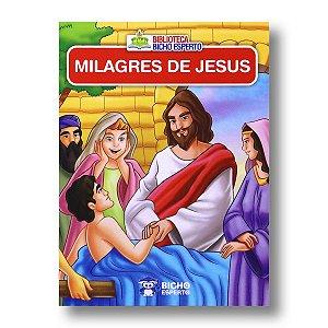 MINI BIBLIOTECA BÍBLICA - MILAGRES DE JESUS