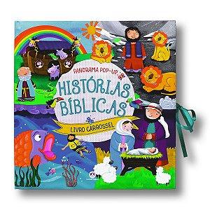HISTÓRIAS BÍBLICAS PANORAMA POP-UP LIVRO CARROSSEL
