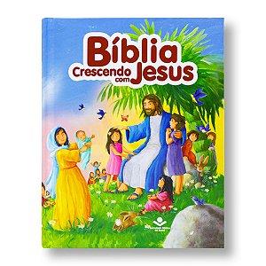 BÍBLIA CRESCENDO COM JESUS AZUL TNL553PBCJ:AZ