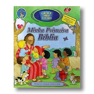MINHA PRIMEIRA BÍBLIA  - UM LIVRO PARA GRAVAR