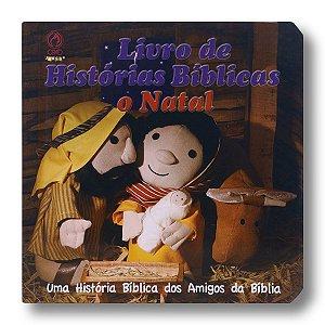 LIVRO DE HISTÓRIAS BÍBLICAS O NATAL