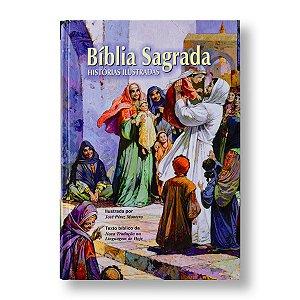 BÍBLIA SAGRADA - HISTÓRIAS ILUSTRADAS - NTLH CAPA DURA ILUSTRADA