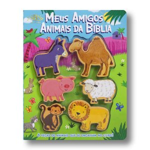 LEIA E BRINQUE AMIGOS ANIMAIS DA BÍBLIA