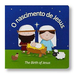 SÉRIE BILINGUE: O NASCIMENTO DE JESUS / THE BIRTH OF JESUS CARTONADO / ABAS