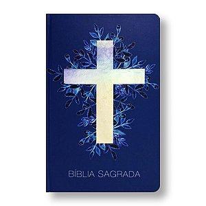 BÍBLIA RA063 MISSIONÁRIA CAPA DURA CRUZ LUZ