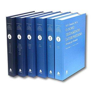 NOVO TESTAMENTO INTERPRETADO 6 VOLUMES R. N. CHAMPLIN