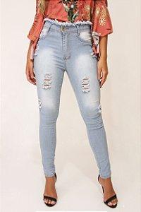 Calça jeans ripped