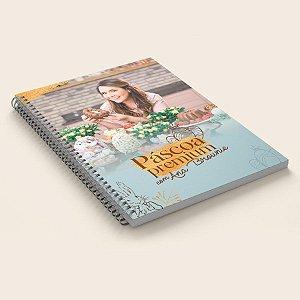 Livro Impresso de Receitas Páscoa Premium